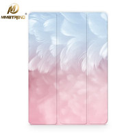 Mimiatrend Pink Feather Leather Case For New IPad 9 7 Pro 10 5 Inch Ultra Thin