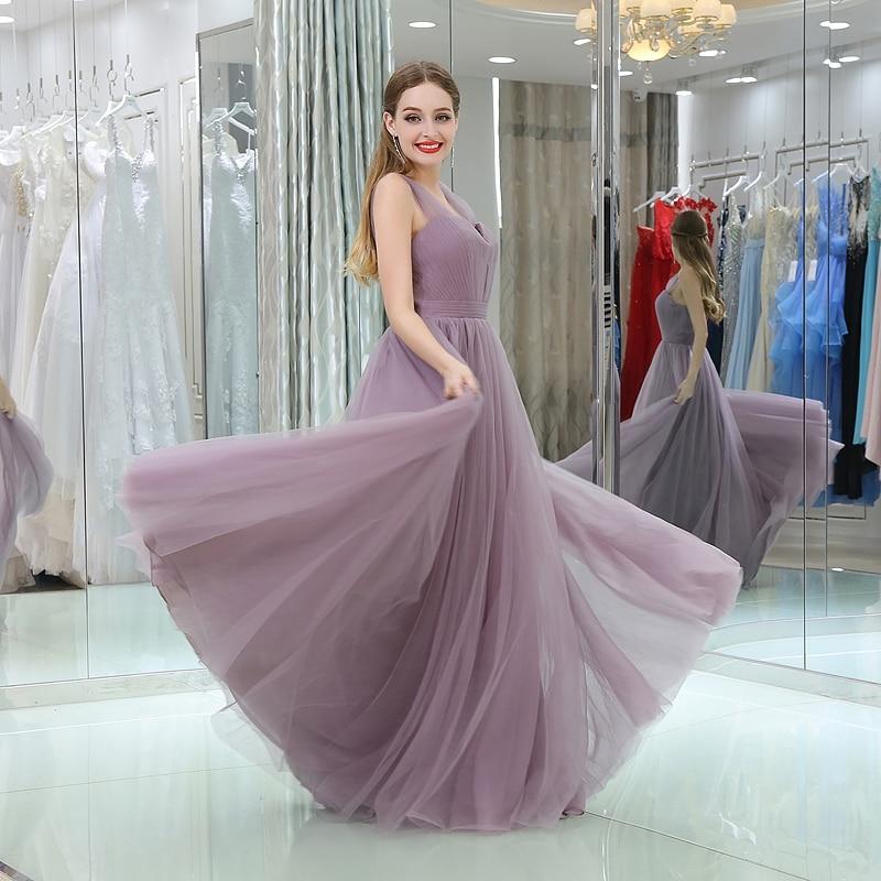 CEEWHY Sweetheart Tulle Long Formal Dress Elegant Wedding Party Dresses Plus Size Evening Dress Abiti Da Cerimonia Da Sera