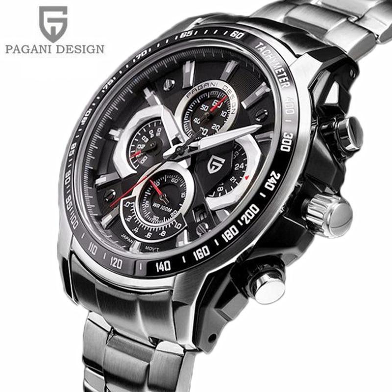2019 Pagani Design Men's Watch Dive 30m Multifunction chronograph (MIYOTA)