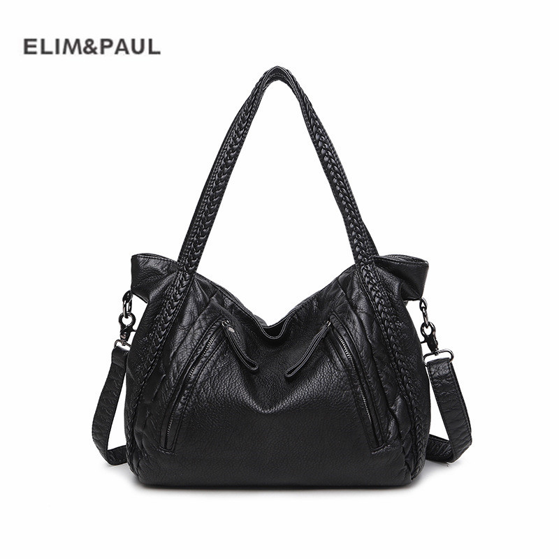 ELIM&PAUL Hot Sale Sheepskin Women Handbag Weave New design Women Tote High Quality Women Messenger Bag Shoulder Bags ELIM&PAUL Hot Sale Sheepskin Women Handbag Weave New design Women Tote High Quality Women Messenger Bag Shoulder Bags