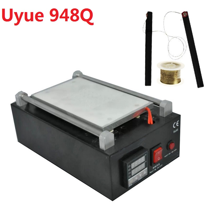 Uyue 948Q 110/220V Built-in Pump Vacuum Metal Body Glass LCD Screen Separator Machine Max 7 inches + Cutting Wire сенсорная панель other 7 4 165x100mm 165 100 165 100mm