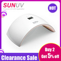SUNUV SUN9s 24W UV LED Lamp for Nails LED Dryer Polish Machine for Curing Nail Gel Art Tools