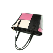 Patchwork PU Leather Handbag