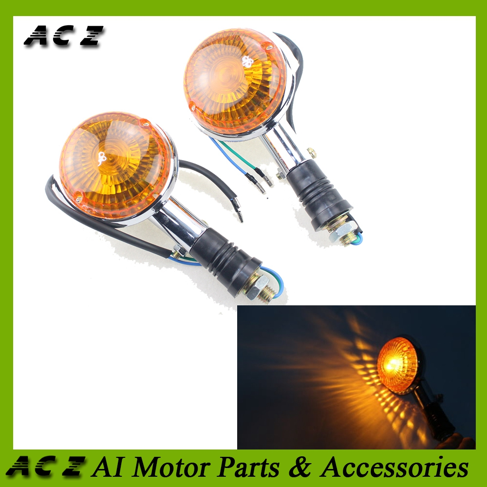 US $9 92 20% OFF ACZ Motorcycle LED Turn Signal Lights Shift Light Blinker  Indicator Flashers Lamp For YAMAHA XJ750 XVS 650 XVZ1300 XV250 on