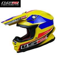LS2 MX456 Motocross helmet 8 country flag style atv dirtbike moto cross helmets with airbag 100% original LS2 motorcycle helmet