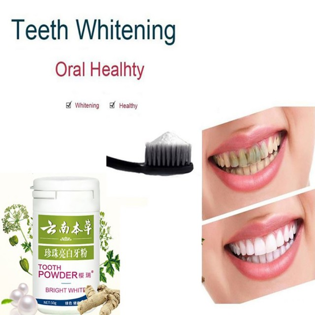 White Tooth Whitening To Yellow Tooth Smoke stains Bright Black Tooth powder Toothpaste Tooth stains P7 Teeth Whitening