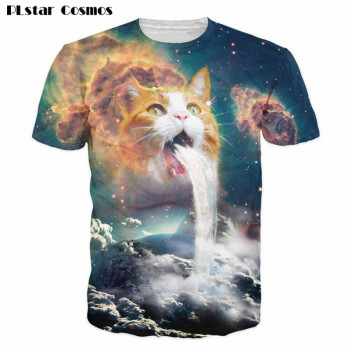 Sick Cat 3D T-Shirt