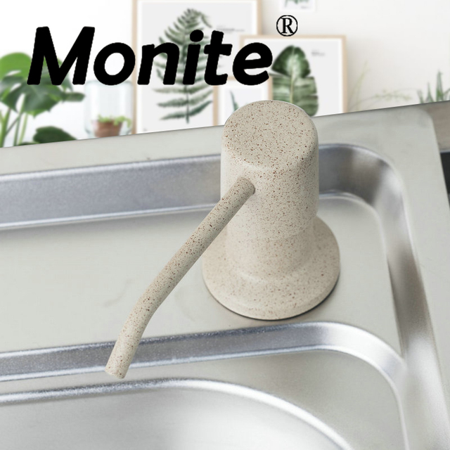 Hand Wholesale And Retail Promotion Deck Mount White Soap Dispenser