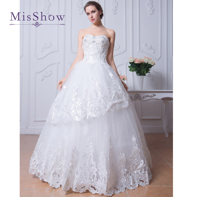 Vestido De Noiva New Design Western Wedding Dress 2017 Beaded ...