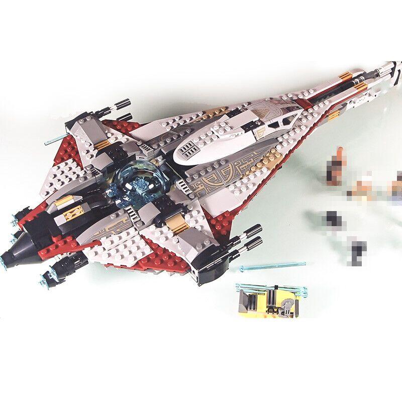 Lepin 05113 800Pcs Genuine Star War Series The Arrowhead Set Children Educational Building Blocks Bricks Toys Model Gifts 75186