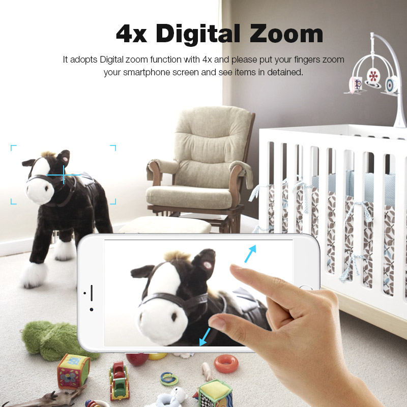 Digoo BB M1 720P Wireless Wifi Pan / Tilt Night Vision Two