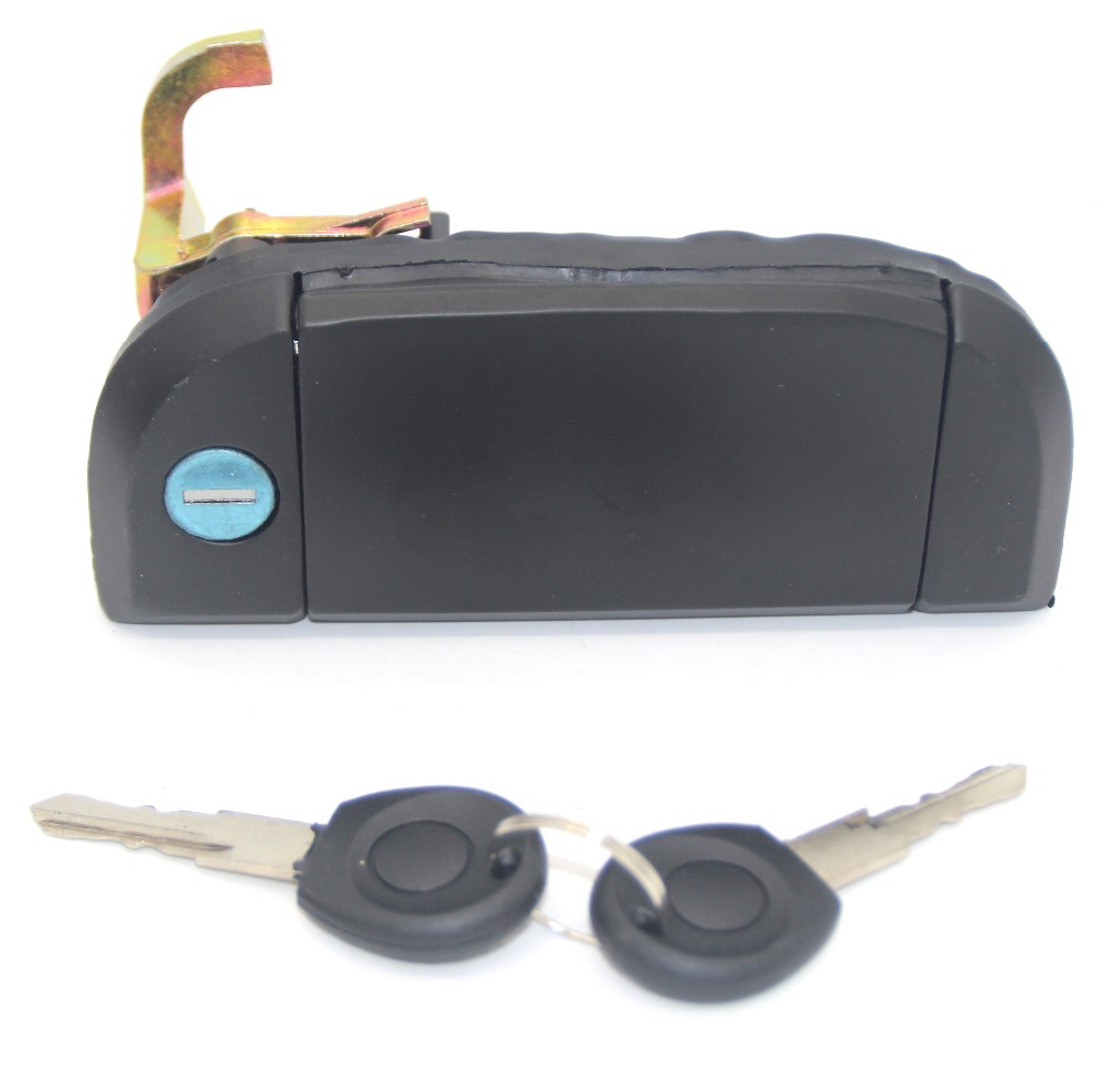 FOR VW TRANSPORTER CARAVELLE 1990-2003 BRAND NEW 701837206 FRONT RIGHT OUTER DOOR HANDLE MECHANISM WITH KEYS