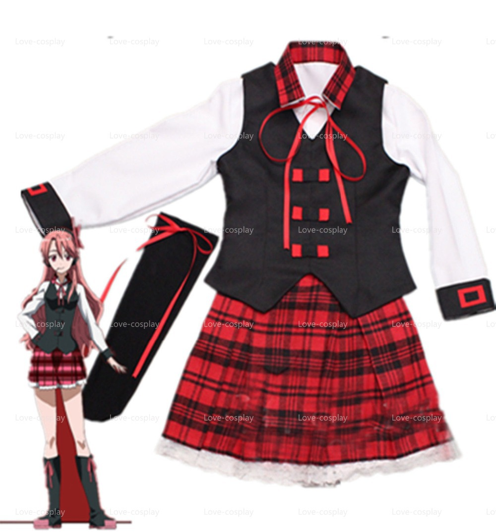 Free Shipping Akame Ga Kill Night Raid Chelsea Uniform Cosplay