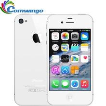 Original Unlocked Apple iPhone 4S Phone 8GB/16GB/32GB ROM GSM WCDMA WIFI GPS 3.5'' 8MP Camera Mobile Phone Used iphone4s