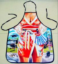 Freeshipping Sexy Apron Creative Kitchen Apron Funny  Women Aprons Dinner Party Cooking Apron Adult Baking Accessories