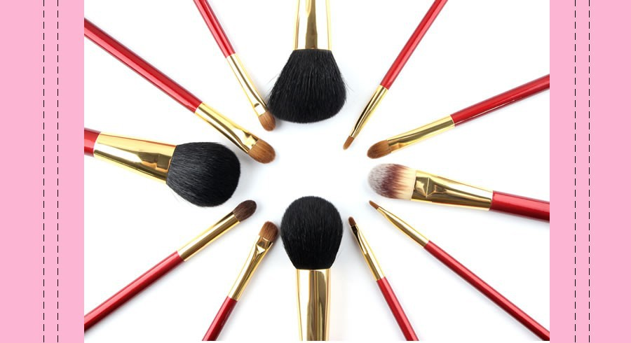 makeup brush set 4