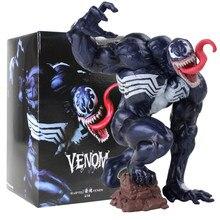 14センチメートルスパイダーマンフィギュアおもちゃ毒黒スパイダーマンエディブロック · モデル人形