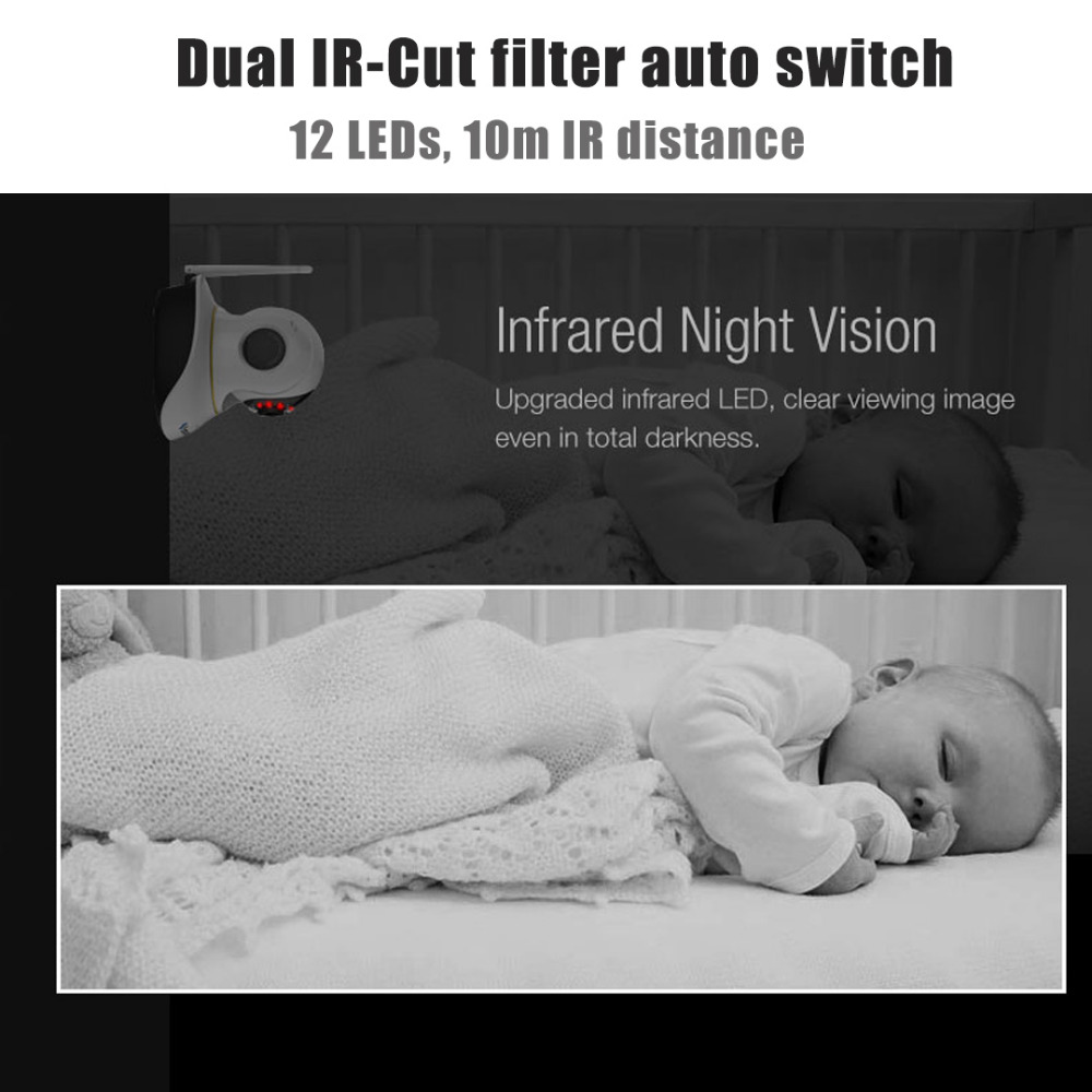 Vstarcam C38S 1080P Full HD უკაბელო IP - უსაფრთხოება და დაცვა - ფოტო 3