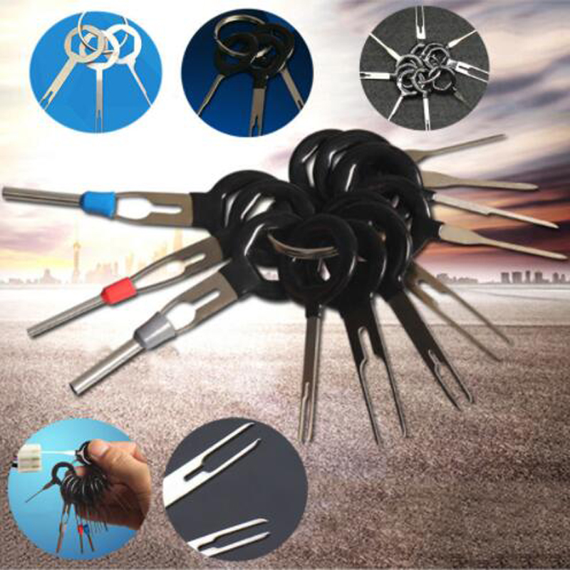 3 8 11 Pcs Car Plug Terminal Taking out Tool Wire Harness Needle Withdrawing Tool