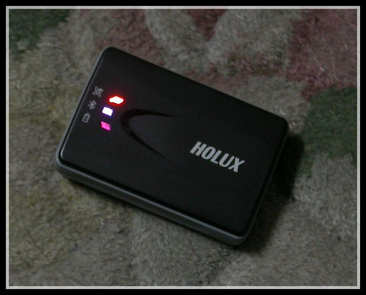 New Holux M1000 Bluetooth wireless GPS Receiver NMEA 0183 protocol , support Google Earth, MTK chipset holux rcv 3000 bluetooth wireless gps data logger receiver for laptop pc 66 channels mtk chipset