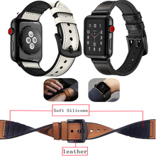 leather Strap for apple watch band 44mm&for apple watch 4 band 40mm Accessories bracelet for iwatch bands 42mm series 3 2 1 38mm ashei new watch strap for apple watch band series 4 leather 40mm 44mm wrist bands straps for iwatch nike series 3 2 1 38mm 42mm