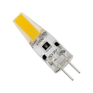 10pcs Lamparas Silicone G4 LED COB DC 12V Light Bulb Replace 10W 20W Halogen Lamp for Chandelier Spotlight 360 Degree Ampoule