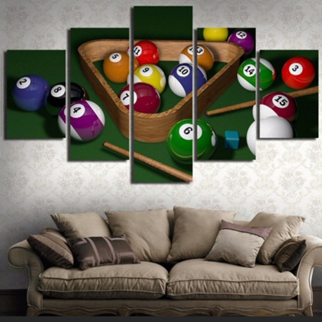 Decoration Home For Living Room Framework Wall Art 5 Pieces ...