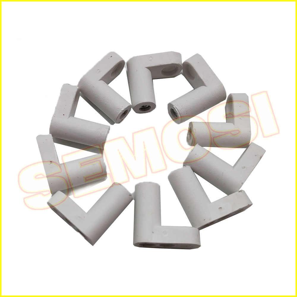 아케이드 jamma mame 60 in 1/pandora box 게임 보드 마운팅 피트 용 나사가있는 100 개/몫 l 유형 pcb 피트