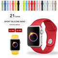 42mm m/l tamanho band para apple watch strap banda de silicone