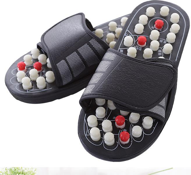 New Arrival Ball barbed Shoe Sandal Reflex Massage Slippers Acupuncture Foot Healthy Massager Shoe 4pcs new for ball uff bes m18mg noc80b s04g