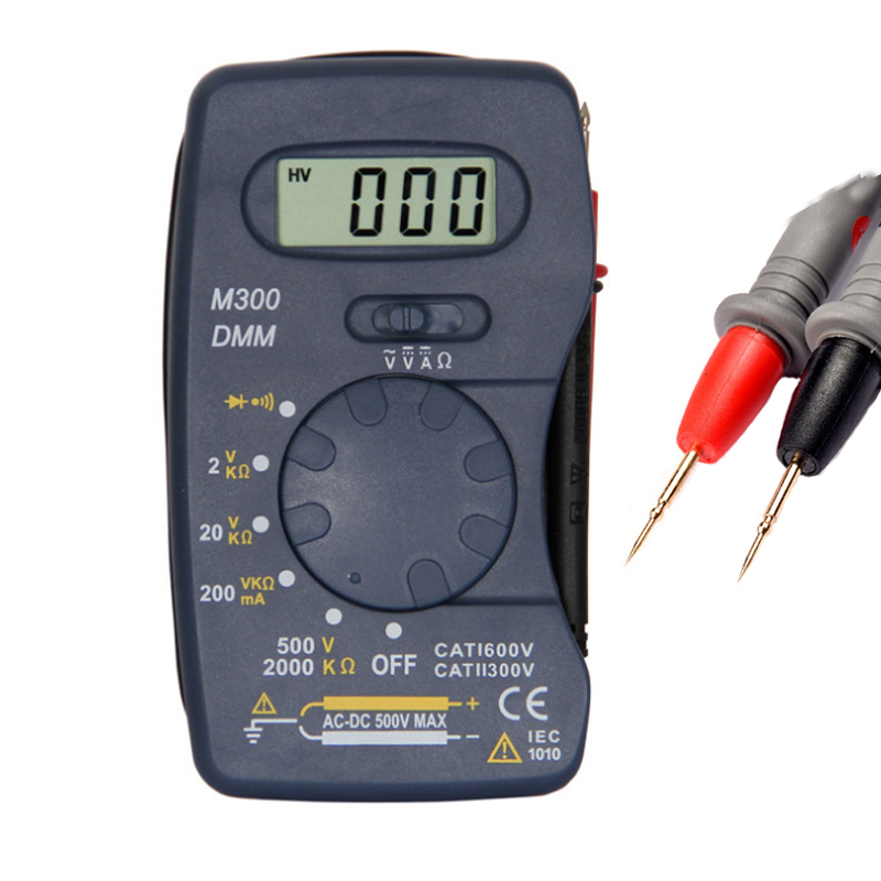 1Pcs DT83B Digital Multimeter Handheld Tester AC/DC Voltage  Multimeter Modern Current Ohmmeter Clamp Meters Tester