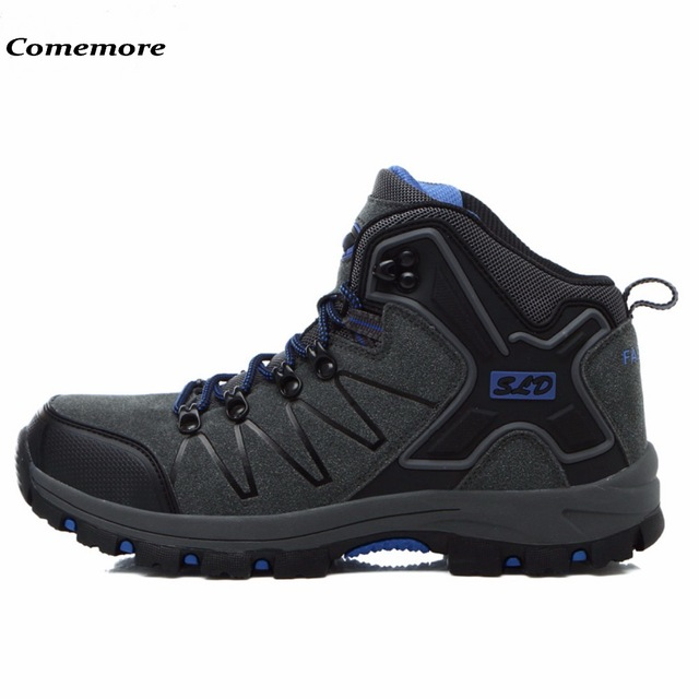 5677055f9 Comemore Men And Women s Waterproof Hiking Shoes Antiskid Desert Jungle  Trekking Sport Shoes Lovers Hunting Male Climbing Boots