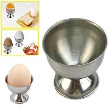 Яйцо держатель Удобный Нержавеющая сталь Мягкая подставка для вареные яйца чашки Настольный Кухня инструментом пара шкафа формы для жарки яйца пашот