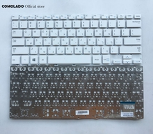 HB Hebrew Keyboard For Samsung NP915S3G 905S3G NP905S3G 910S3G NP910S3G 915S3G white keyboard layout