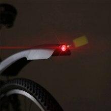 2 ШТ. Светодиодные велосипедов крыло передние задние крыло брызговик горная дорога велосипед велоспорт Брызговик Велосипед Частей