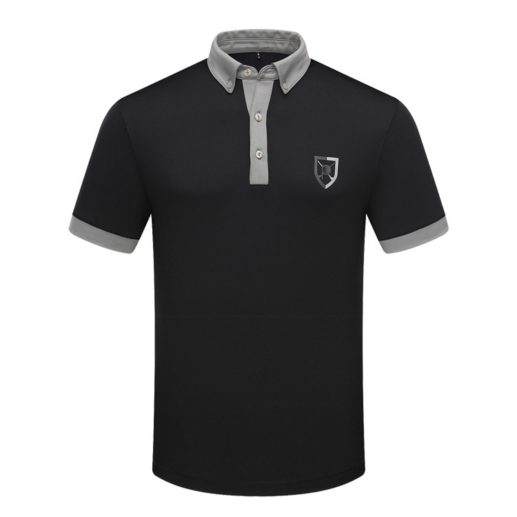 Brand golf high quality men polo shirts clothes thin for All polo shirt brands