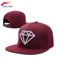 New Diamond Snapback Hat Snapback Cap Hip Hop Hat Baseball Cap Fashion Hat Sport For Men