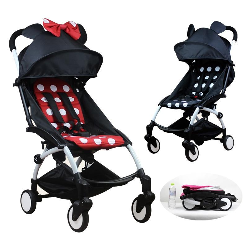 Yoya Babyyoya Baby Stroller 11 Gift Lightweight Compact Trolley Travel Baby Stroller Portable Folding Babyzen Yoyo Stroller