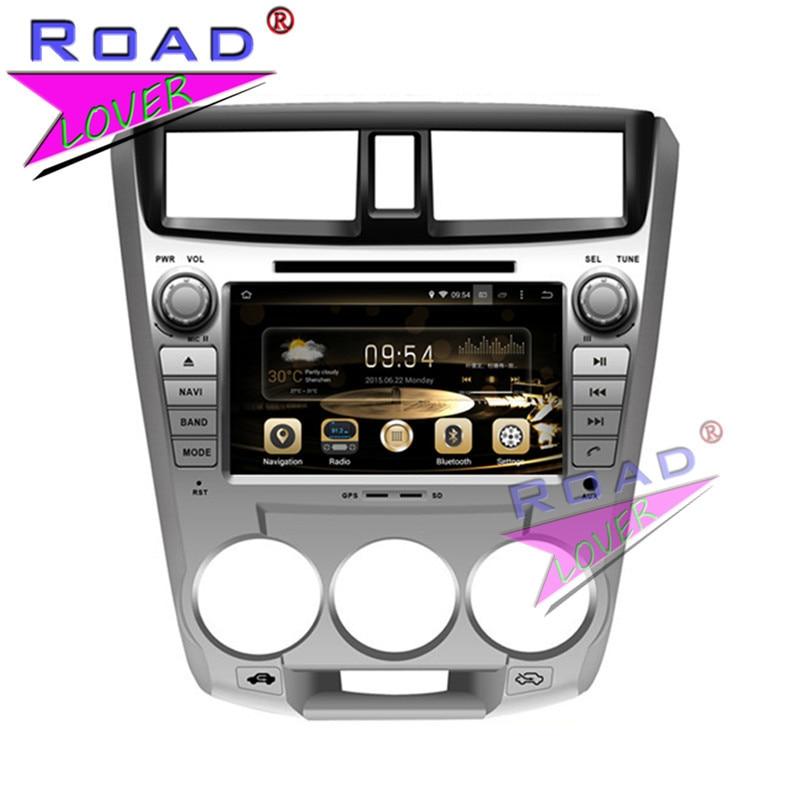 TOPNAVI Octa Core 2G+32GB Android 6.0 Car Media Center DVD Auto Player For Honda City 1.5L 2008- Stereo GPS Navigation Audio 3G