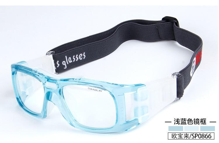 6ccc624c617eb Profissional ao ar livre óculos de Basquete óculos óculos Esportes Futebol Óculos  olho quadro combinar com lente óptica miopia nearsighted SP0866
