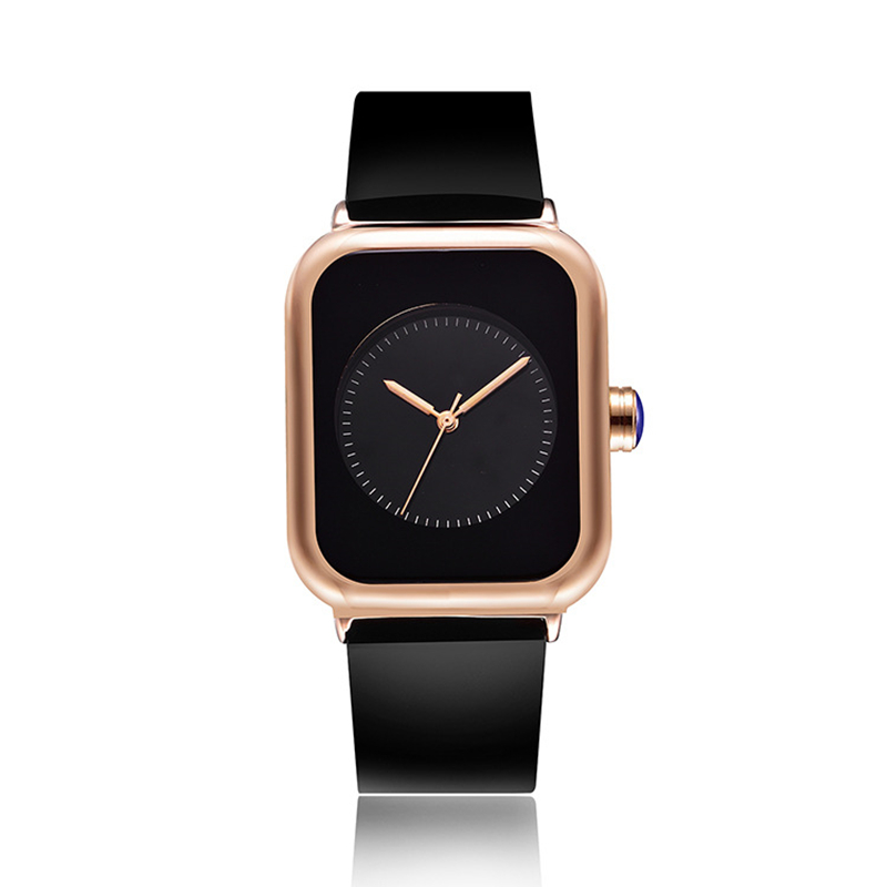 New 2018 Popular Women Casual Watch ladies Leather Luxury Watch Woman Sport Quartz Wristwatch simple rectangle dial female Clock bgg luxury ladies simple wristwatch women casual watch luxury female genuine leather quartz watch new fashion clock hours reloj page 6