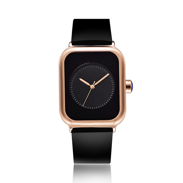 952102274eec0 New 2018 Popular Women Casual Watch ladies Leather Luxury Watch Woman Sport  Quartz Wristwatch simple rectangle dial female Clock