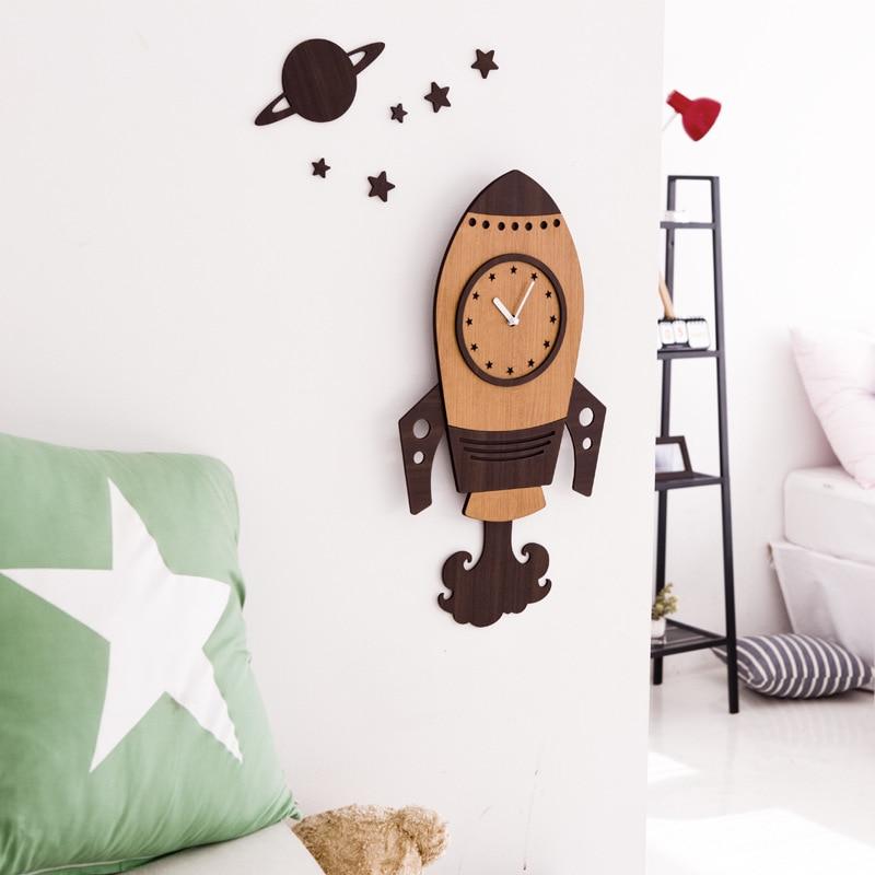 Rocket Wall Hanging Clock 1