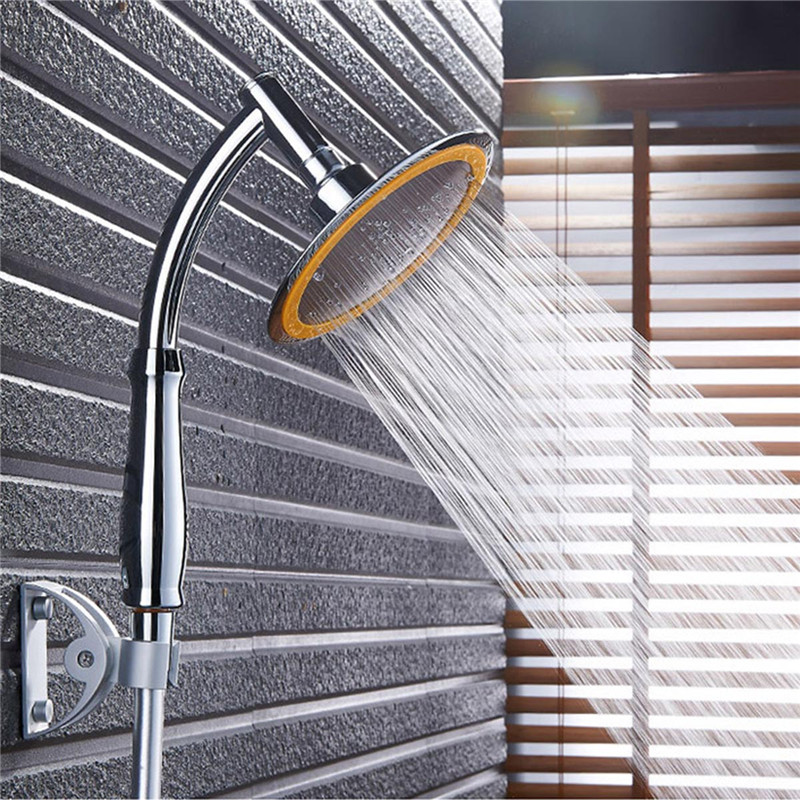 Pressurized Water Saving Hand hold Shower Head.Bathroom Brass Made With Chrome Finish Hand Shower.Bathroom Accessories