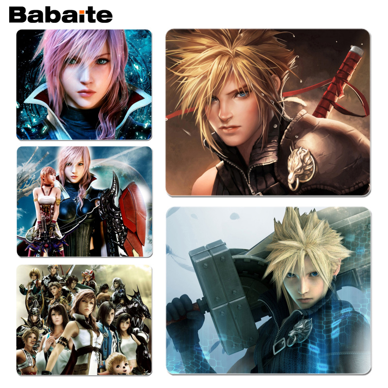 Babaite Personalized Fashion <font><b>Final</b></font> Fantasy Comfort <font><b>Mouse</b></font> Mat Gaming Mousepad Size for 180x220x2mm and 250x290x2mm Small Mousepad image