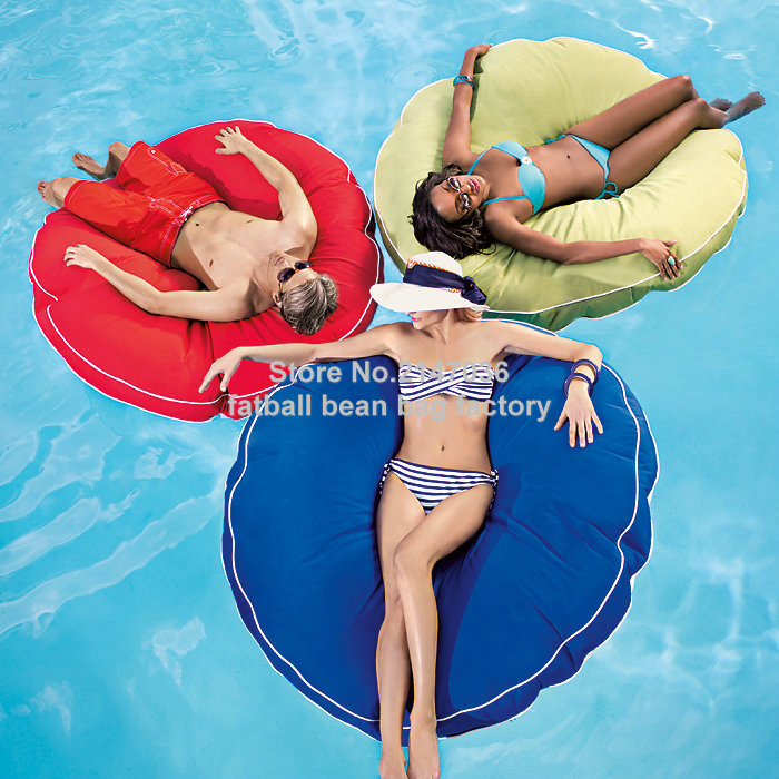 купить Island design bean bag float chair, outdoor round beanbag seat furniture , Large cuddle bean cushion set по цене 3059.89 рублей