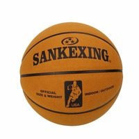 SANKWXING 2017 Brand Basketball Official Size 7 leather Basketball Balls Outdoor Men Basket Ball basquete 75cm Free shipping