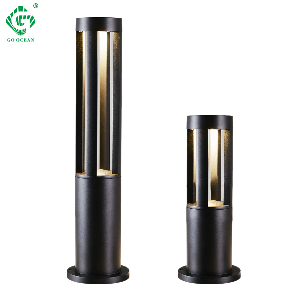 LED Landscape Garden Light Outdoor Waterproof for Lawn Decoration Yard Christmas Pathway Villa Garden Lighting Bollards Lamps-in LED Lawn Lamps from Lights & Lighting