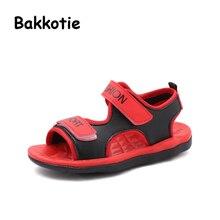 Bakkotie 2018 nuevo bebé de la manera del verano la playa de la muchacha niños  negro 0744bc604d3e