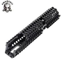 AK 47 Тактический Quad Rail Пикатинни Handguard системы ЧПУ алюминий полная длина тактический для АК AEG/GBB винтовки B30 B31